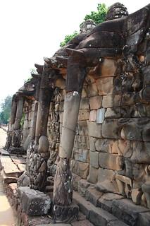 Angkor Thom Elephant Terrace