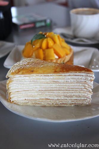 Original Mille Crêpe, Nadeje Cake House