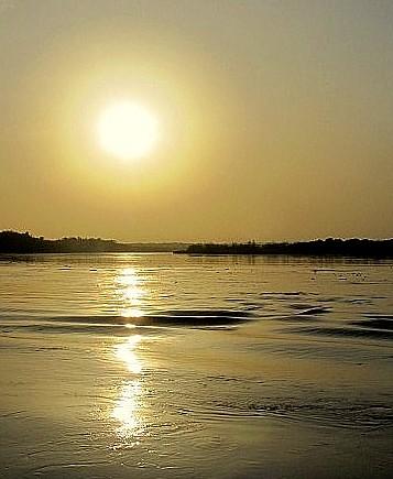 africa sunrise river nile uganda murchisonfalls magicalskies