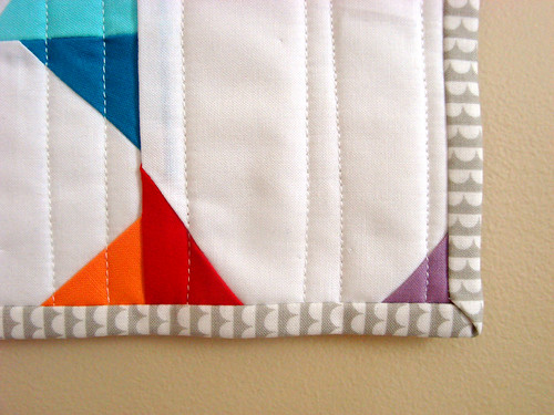 mini quilt details