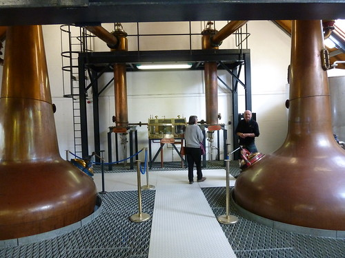 Distillation  at Isle of Arran Distillery