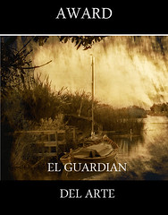 AWARD EL GUARDIAN DEL ARTE