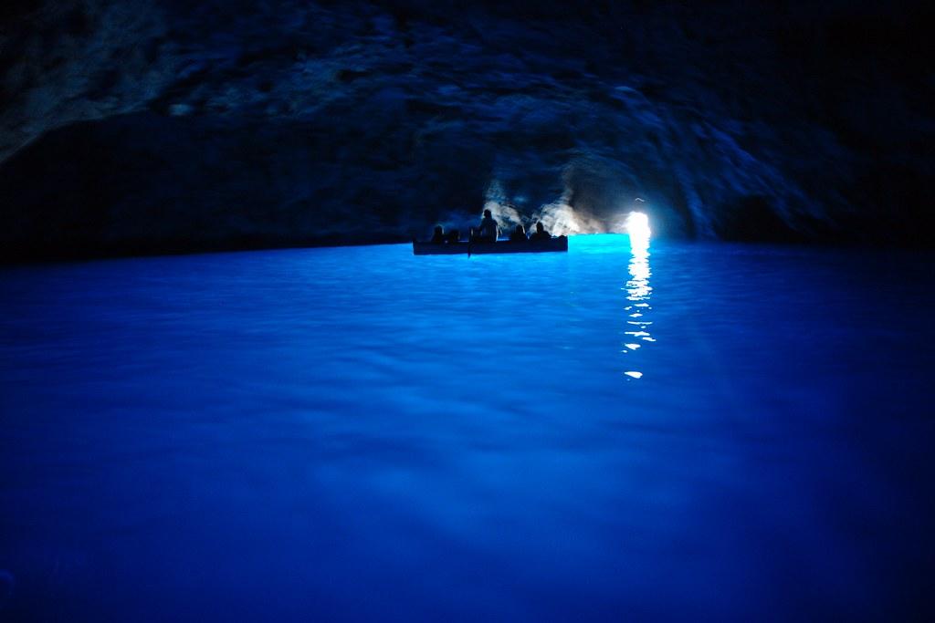 Postcard 5: Blue Grotto