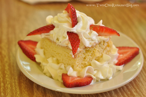 Tres Leches Cake at Chimborazo ~ Minneapolis, MN