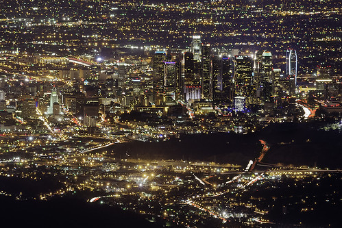 Shiny Busy City - Los Angeles, California