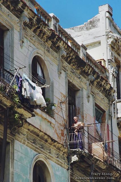 Old Havana Cuba Street Scene 11