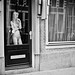 girl, window, Amsterdam 2012 by juliehrudova