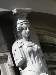 Caryatid in Montpellier