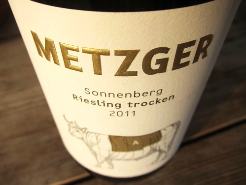 Metzger Riesling Muehlheimer Sonnenberg