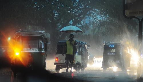 Rain in Colombo
