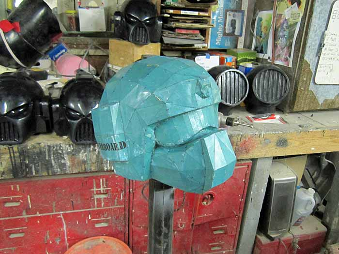 Imperial Guard Helmet Pep Glassed