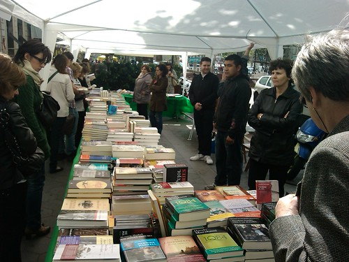 Books for Sant Jordi by simonharrisbcn