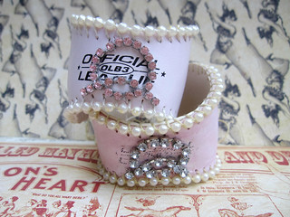 Custom Shabby Baseball Cuffs! 5
