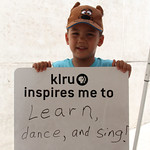 KLRU inspires me to... learn, dance and sing!
