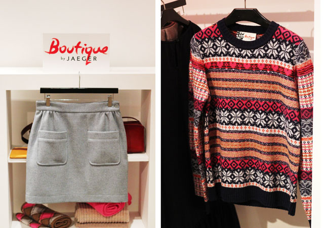 Boutique by Jaeger AW12 fairisle jumper