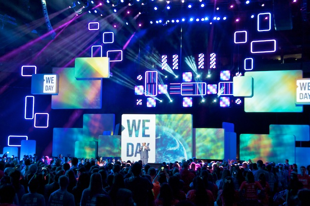 MLK III at We Day Seattle
