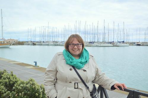 Strolling along the Porto Turistico