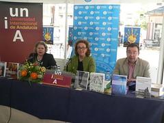 Presentación novedades UNIA en la feria del Libro de Huelva