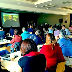 Learning about creativity & remix with @kevinhoneycutt & @gingerlewman at our last day of #beyondlaptops