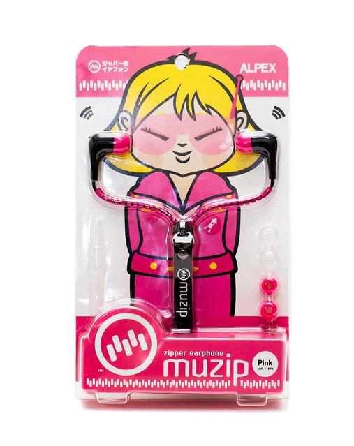 簡單好玩! Muzip Zipper earphone 新潮拉鍊耳機 @3C 達人廖阿輝