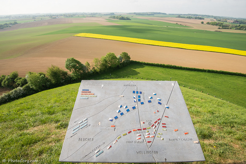Waterloo battlefields, Belgium