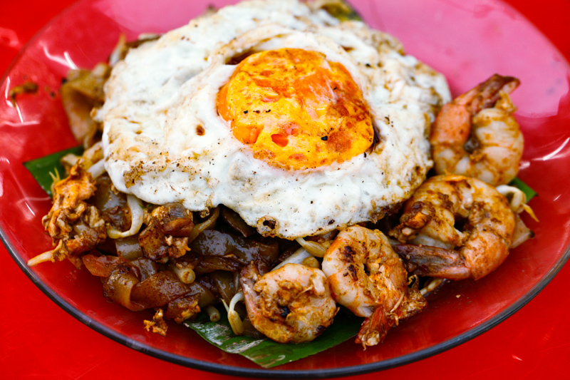 James Bond Char Koay Teow with Duck Egg