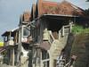 Row of houses, Novi Pazar, Serbia