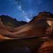 Wave Milky Way by geekyrocketguy