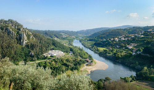 Mondego Downstream from Penacova