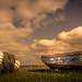 Old scrapped boats by esbenbrøns