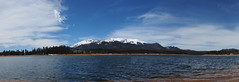 Pano: Pikes Peak over North Catamount Reservoir