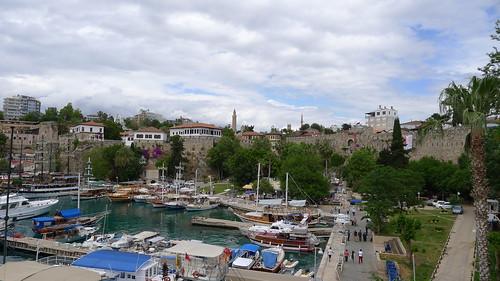 Der Hafen von Antalya