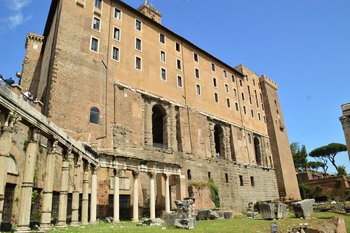 Portico of Divi Consenti and Tabularium