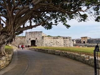Fortaleza de San Carlos de La Cabaña 在 中哈瓦那 附近 的形象.