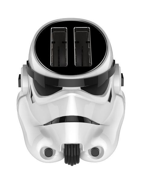 讓你的吐司加入帝國軍!!Pangea Brands【白兵烤吐司機】Star Wars Stormtrooper Toaster
