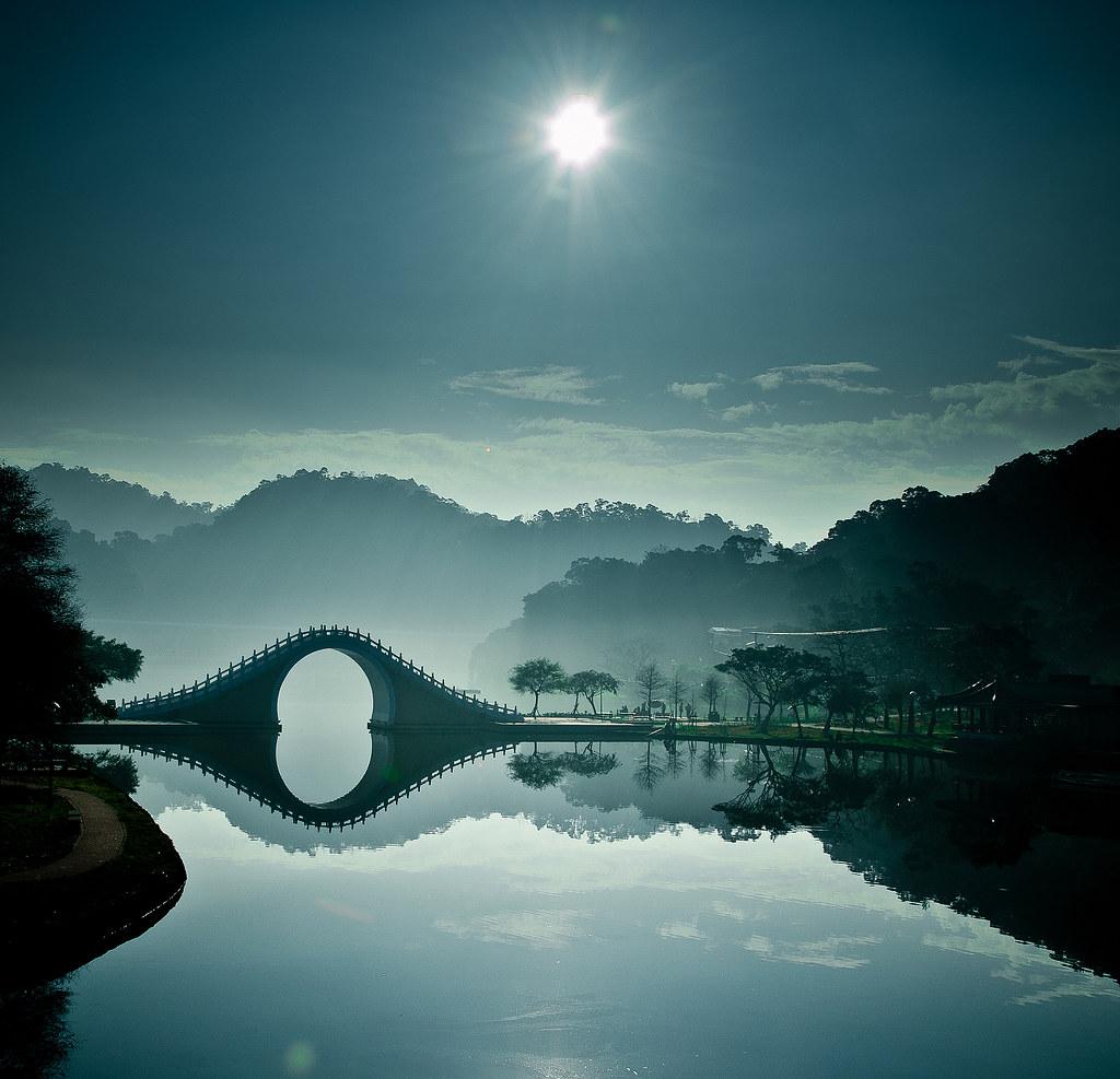 [美图] 波光山色渐模糊 锦带桥平入画图(10P) - 路人@行者 - 路人@行者