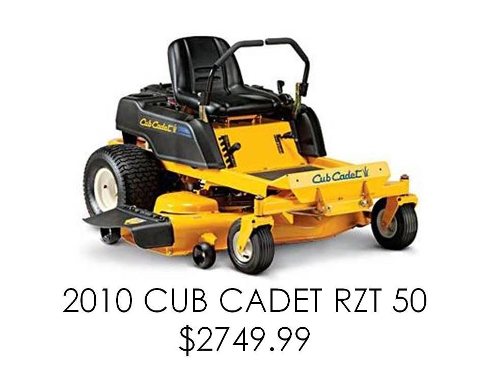 Cub Cadet Rzt22 Mower Parts : Cub cadet zero turn mowers deals on blocks
