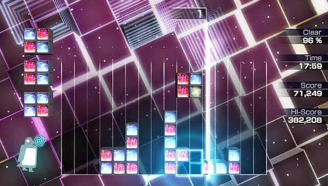 "Lumines ES: ""Hey Boy, Hey Girl"""