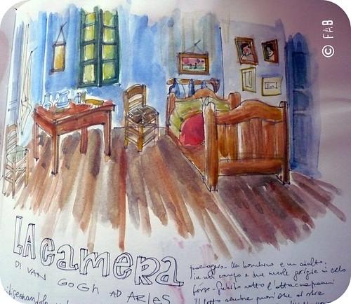 La stanza di van gogh - Van gogh la camera da letto ...