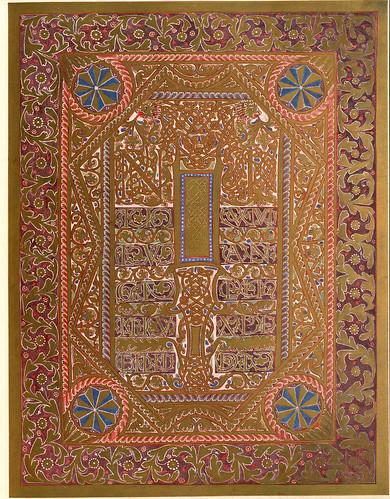 012-Evangelio de Marcos-Evangeliar  Codex Aureus - BSB Clm 14000-© Bayerische Staatsbibliothek