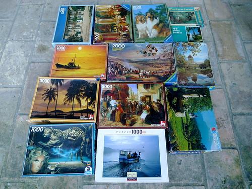 lot de puzzle 1000 et 2000 pièces by angelarune