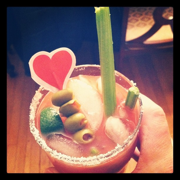 Special spicy bloody Mary