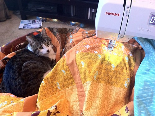 Mendocino Quilt and Helper