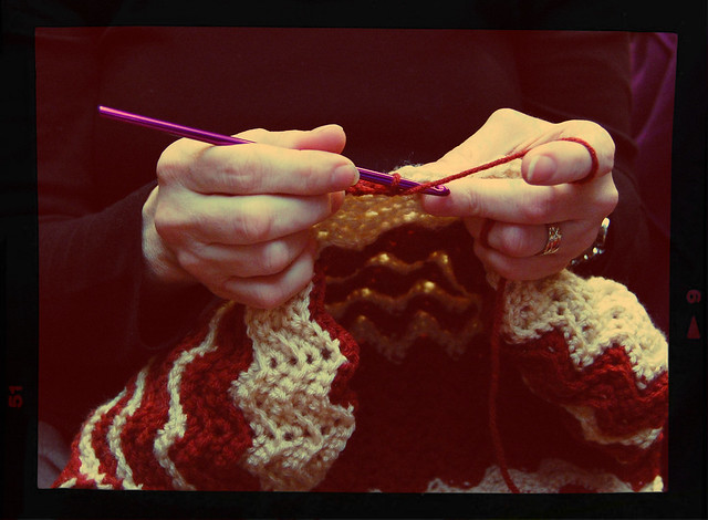 "tuesday night knitting club: ""hands"" edition."
