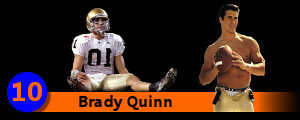 Pictures of Brady Quinn