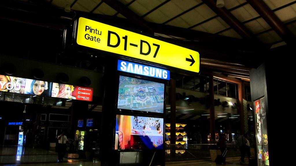 Terminal 2D Passenger Area at Soekarno-Hatta International