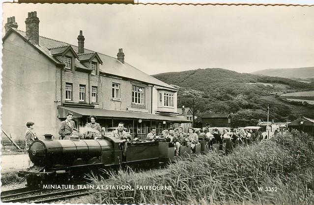 fairbourne miniature railway 1950s flickr photo sharing