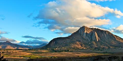 panorama landscape tramonto madagascar