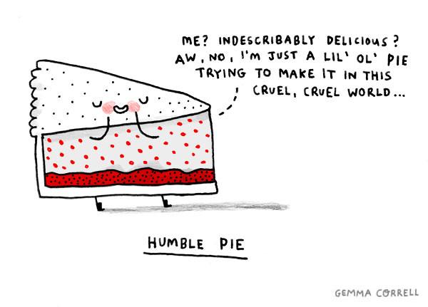humble pie