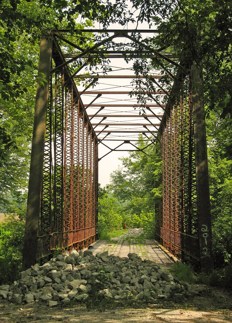 The Houck Iron Bridge